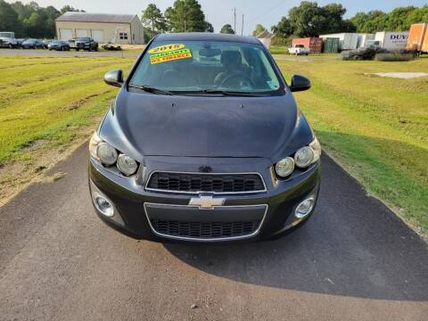 2015 Chevrolet Sonic for sale at Auto Guarantee, LLC in Eunice LA