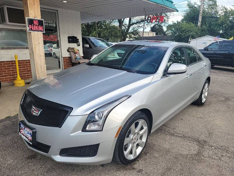 2014 Cadillac ATS for sale at New Wheels in Glendale Heights IL