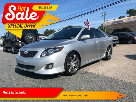 2010 Toyota Corolla for sale at Mega Autosports in Chesapeake VA