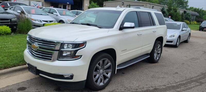 2015 Chevrolet Tahoe for sale at Steve's Auto Sales in Madison WI