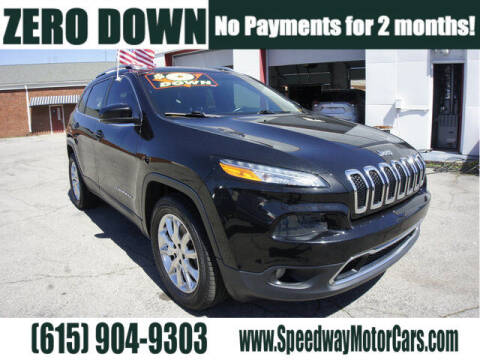 2016 Jeep Cherokee for sale at Speedway Motors in Murfreesboro TN