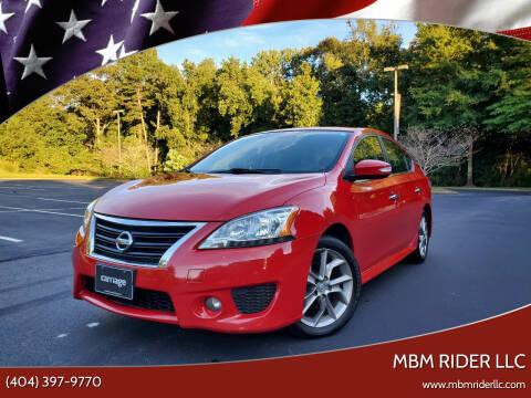2015 Nissan Sentra for sale at MBM Rider LLC in Alpharetta GA