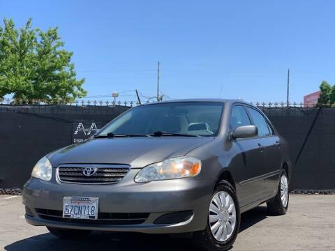 2007 Toyota Corolla for sale at AutoAffari LLC in Sacramento CA