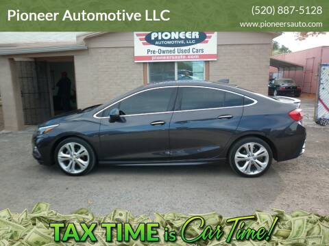 2017 Chevrolet Cruze for sale at Pioneer Automotive LLC in Tucson AZ