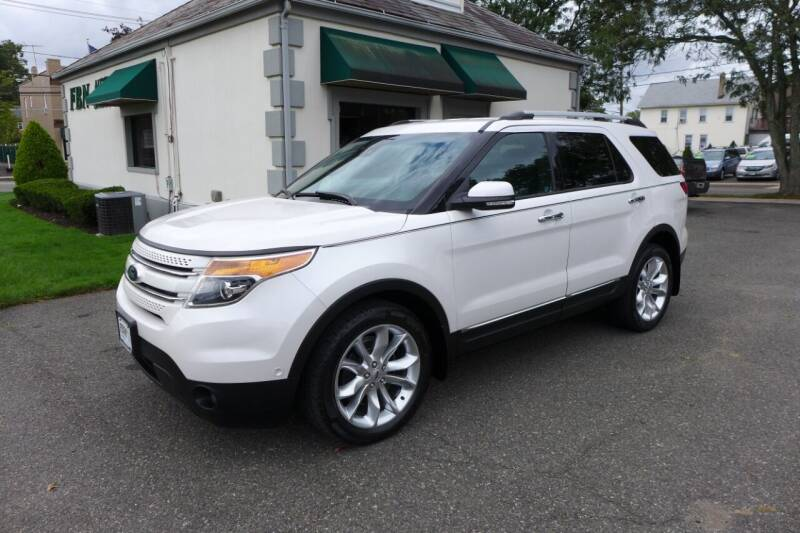 2013 Ford Explorer for sale at FBN Auto Sales & Service in Highland Park NJ