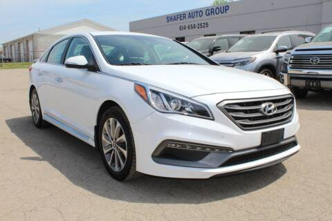 2015 Hyundai Sonata for sale at SHAFER AUTO GROUP in Columbus OH