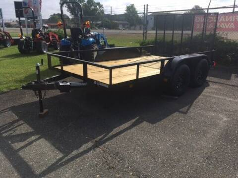 """2021 Triple Crown 6.4"""" x 12' Utility Trailer  for sale at Sanders Motor Company in Goldsboro NC"""