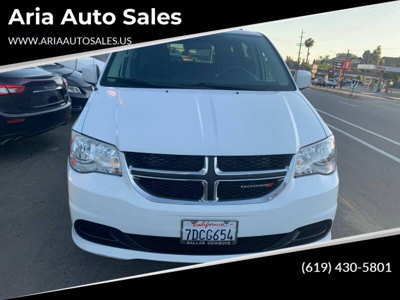 2014 Dodge Grand Caravan for sale at Aria Auto Sales in El Cajon CA