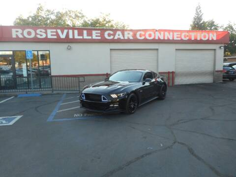 2015 Ford Mustang for sale at ROSEVILLE CAR CONNECTION in Roseville CA
