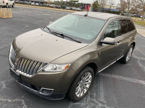 2012 Lincoln MKX for sale at Top Notch Luxury Motors in Decatur GA
