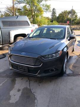 2016 Ford Fusion for sale at Jimmys Auto Sales in North Providence RI