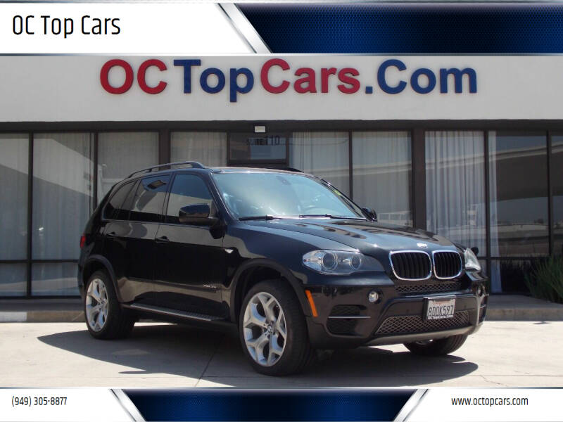 2013 BMW X5 for sale at OC Top Cars in Irvine CA