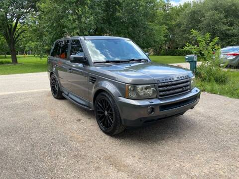 2006 Land Rover Range Rover Sport for sale at CARWIN MOTORS in Katy TX