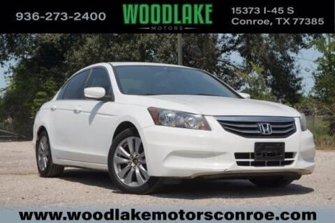 2012 Honda Accord for sale at WOODLAKE MOTORS in Conroe TX