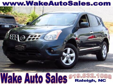 2013 Nissan Rogue for sale at Wake Auto Sales Inc in Raleigh NC
