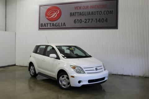 2005 Scion xA for sale at Battaglia Auto Sales in Plymouth Meeting PA