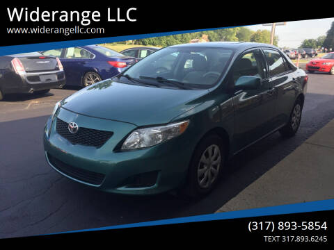 2009 Toyota Corolla for sale at Widerange LLC in Greenwood IN