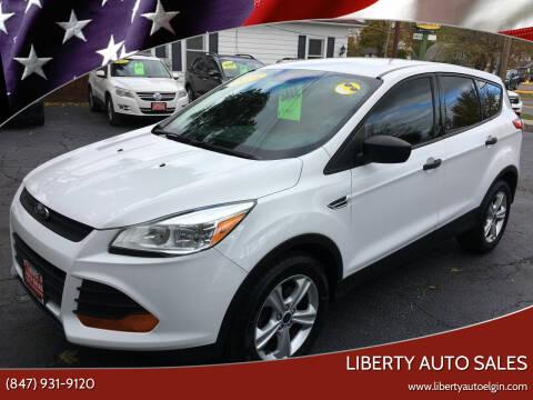 2016 Ford Escape for sale at Liberty Auto Sales in Elgin IL