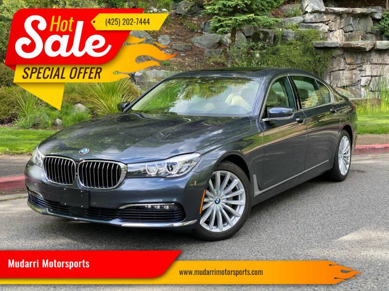 2017 BMW 7 Series for sale in Kirkland, WA