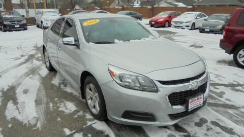 2014 Chevrolet Malibu for sale at Absolute Motors 2 in Hammond IN
