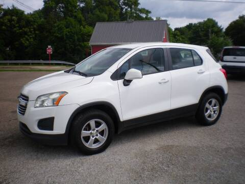 2016 Chevrolet Trax for sale at Starrs Used Cars Inc in Barnesville OH