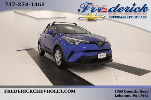 2019 Toyota C-HR for sale at Lancaster Pre-Owned in Lancaster PA