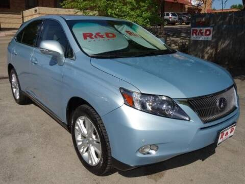 2011 Lexus RX 450h for sale at R & D Motors in Austin TX