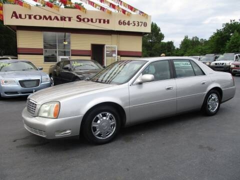 2004 Cadillac DeVille for sale at Automart South in Alabaster AL