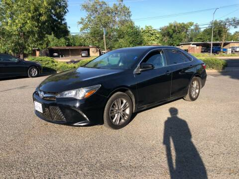 2016 Toyota Camry for sale at All Cars & Trucks in North Highlands CA