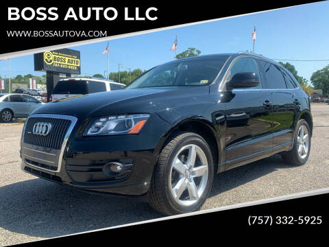 2011 Audi Q5 for sale at BOSS AUTO LLC in Norfolk VA