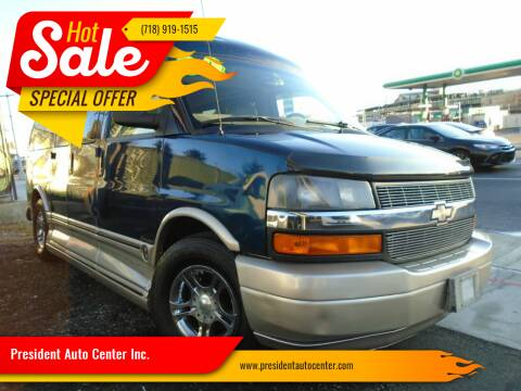 2004 Chevrolet Express Cargo for sale at President Auto Center Inc. in Brooklyn NY