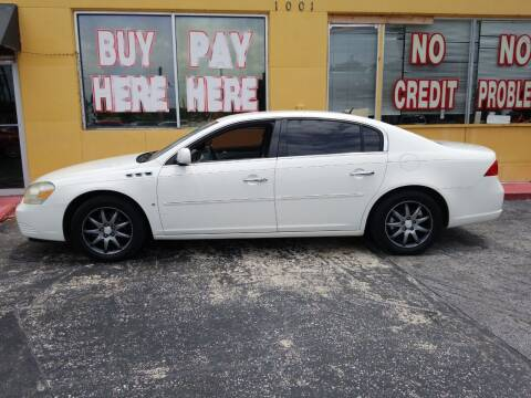 2007 Buick Lucerne for sale at BSS AUTO SALES INC in Eustis FL