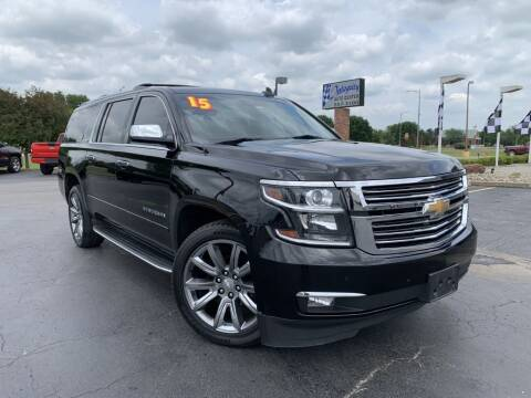 2015 Chevrolet Suburban for sale at Integrity Auto Center in Paola KS