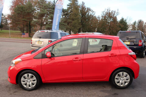 2013 Toyota Yaris for sale at GEG Automotive in Gilbertsville PA