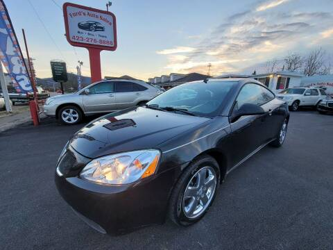 2008 Pontiac G6 for sale at Ford's Auto Sales in Kingsport TN
