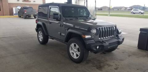 2019 Jeep Wrangler for sale at GOOD NEWS AUTO SALES in Fargo ND