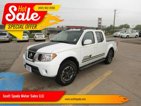 2015 Nissan Frontier for sale at Scott Spady Motor Sales LLC in Hastings NE