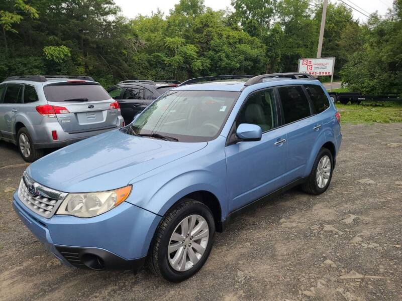 2011 Subaru Forester for sale at B & B GARAGE LLC in Catskill NY