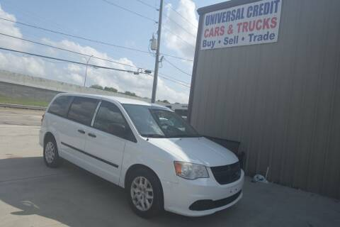 2014 RAM C/V for sale at Universal Credit in Houston TX