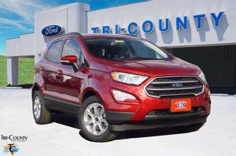 2021 Ford EcoSport for sale at TRI-COUNTY FORD in Mabank TX