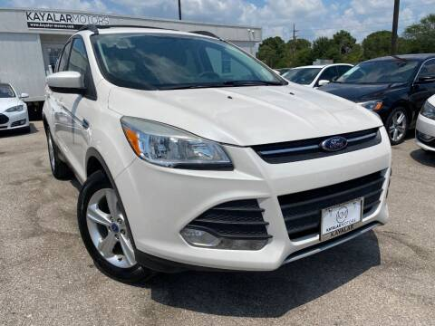 2013 Ford Escape for sale at KAYALAR MOTORS in Houston TX