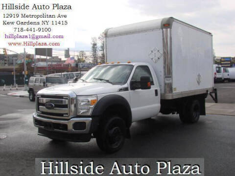 2012 Ford F-450 Super Duty for sale at Hillside Auto Plaza in Kew Gardens NY