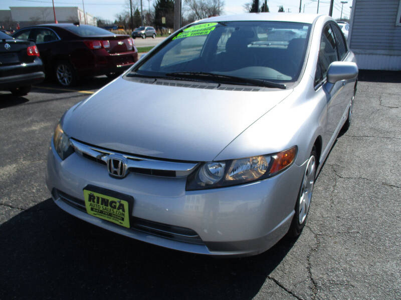 2008 Honda Civic for sale at Ringa Auto Sales in Arlington Heights IL