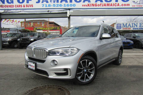 2017 BMW X5 for sale at MIKEY AUTO INC in Hollis NY