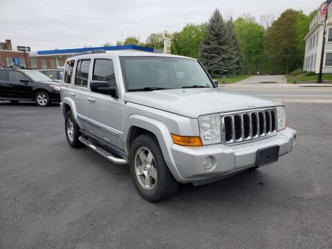 2010 Jeep Commander for sale at K Tech Auto Sales in Leominster MA