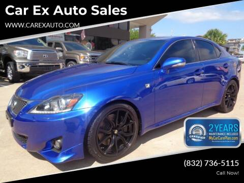 2012 Lexus IS 350 for sale at Car Ex Auto Sales in Houston TX