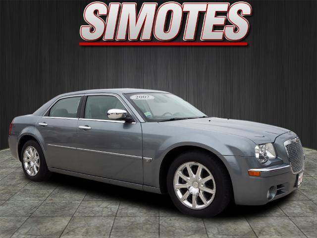 2007 Chrysler 300 for sale at SIMOTES MOTORS in Minooka IL