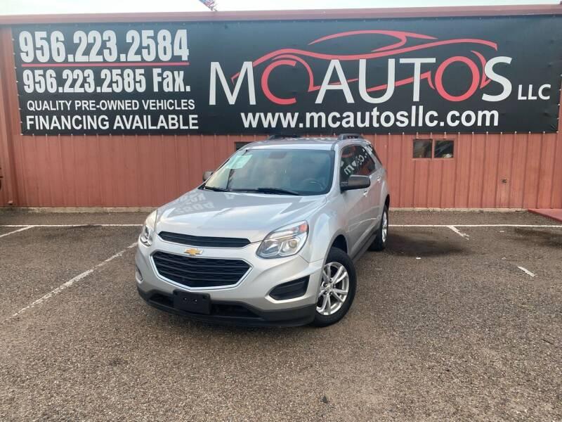 2017 Chevrolet Equinox for sale at MC Autos LLC in Pharr TX
