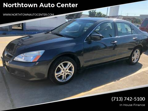 2007 Honda Accord for sale at Northtown Auto Center in Houston TX