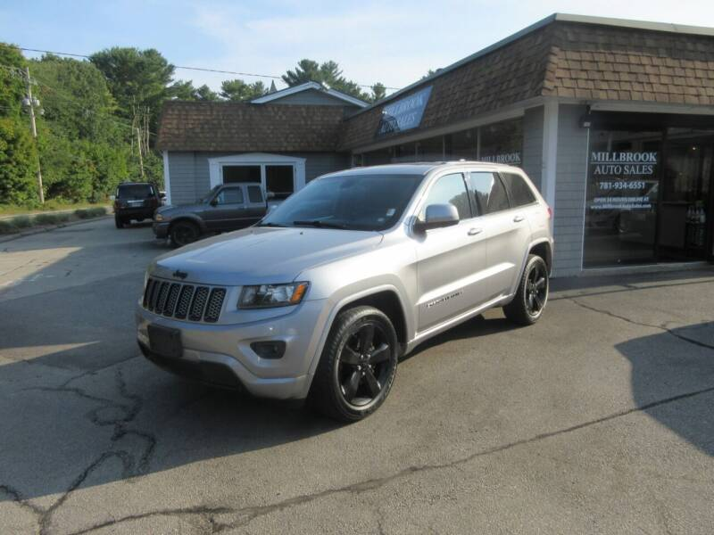 2015 Jeep Grand Cherokee for sale at Millbrook Auto Sales in Duxbury MA